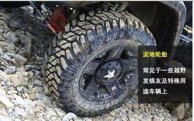 轮胎花纹分类多 有理有据别选错!